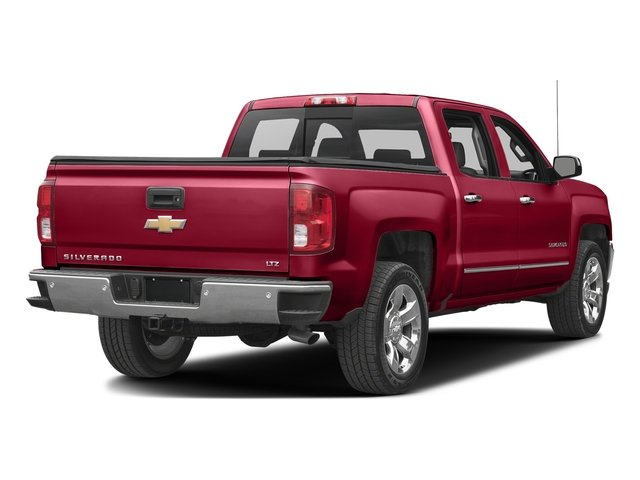 Siren Red Tintcoat 2017 Chevrolet Silverado 1500 Pictures Silverado 1500 4WD Crew Cab 153.0 LTZ w/1LZ photos rear view