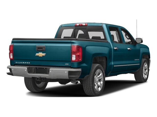 Deep Ocean Blue Metallic 2017 Chevrolet Silverado 1500 Pictures Silverado 1500 4WD Crew Cab 153.0 LTZ w/1LZ photos rear view
