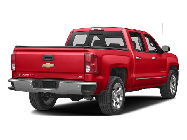 Red Hot 2017 Chevrolet Silverado 1500 Pictures Silverado 1500 4WD Crew Cab 153.0 LTZ w/1LZ photos rear view