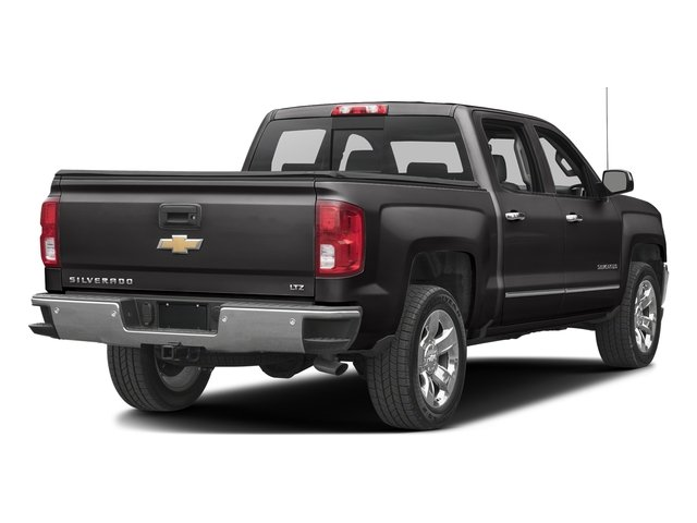 Black 2017 Chevrolet Silverado 1500 Pictures Silverado 1500 4WD Crew Cab 153.0 LTZ w/1LZ photos rear view