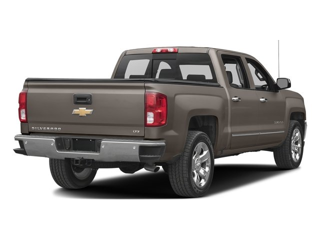 Pepperdust Metallic 2017 Chevrolet Silverado 1500 Pictures Silverado 1500 4WD Crew Cab 153.0 LTZ w/1LZ photos rear view