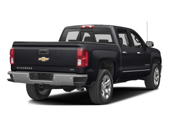 Graphite Metallic 2017 Chevrolet Silverado 1500 Pictures Silverado 1500 4WD Crew Cab 153.0 LTZ w/1LZ photos rear view