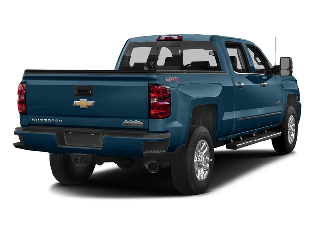 Deep Ocean Blue Metallic 2017 Chevrolet Silverado 3500HD Pictures Silverado 3500HD 2WD Crew Cab 153.7 High Country photos rear view