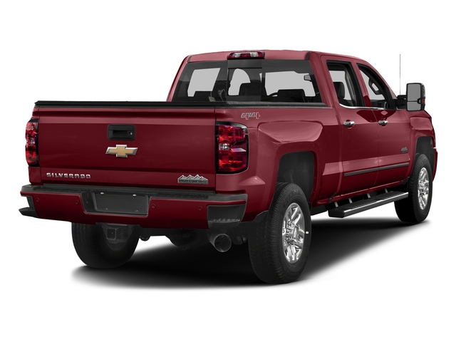 Butte Red Metallic 2017 Chevrolet Silverado 3500HD Pictures Silverado 3500HD 2WD Crew Cab 153.7 High Country photos rear view