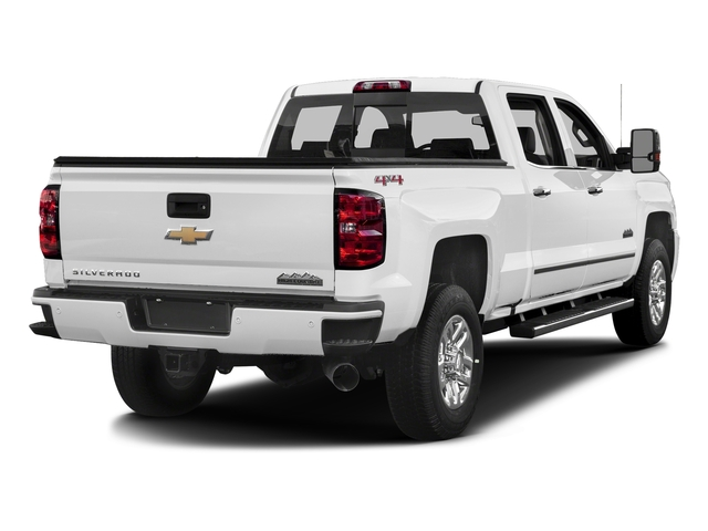 Summit White 2017 Chevrolet Silverado 3500HD Pictures Silverado 3500HD 2WD Crew Cab 153.7 High Country photos rear view