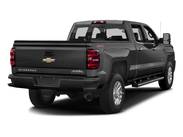 Black 2017 Chevrolet Silverado 3500HD Pictures Silverado 3500HD 2WD Crew Cab 153.7 High Country photos rear view