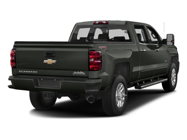 Graphite Metallic 2017 Chevrolet Silverado 3500HD Pictures Silverado 3500HD 2WD Crew Cab 153.7 High Country photos rear view