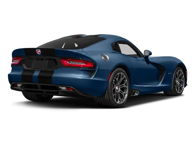 Competition Blue 2017 Dodge Viper Pictures Viper 2 Door Coupe photos rear view