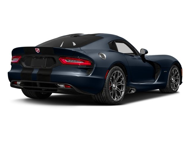 GTS-R Blue Pearlcoat 2017 Dodge Viper Pictures Viper 2 Door Coupe photos rear view