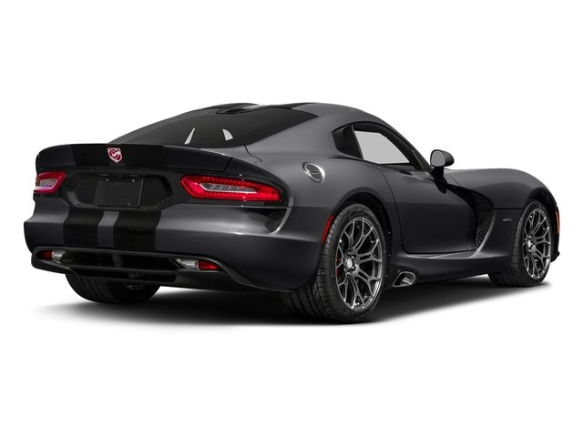 Gunmetal Pearl 2017 Dodge Viper Pictures Viper 2 Door Coupe photos rear view