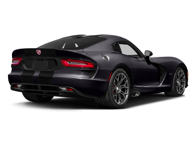 Stryker Purple Tri-Coat Pearl 2017 Dodge Viper Pictures Viper GTC Coupe photos rear view