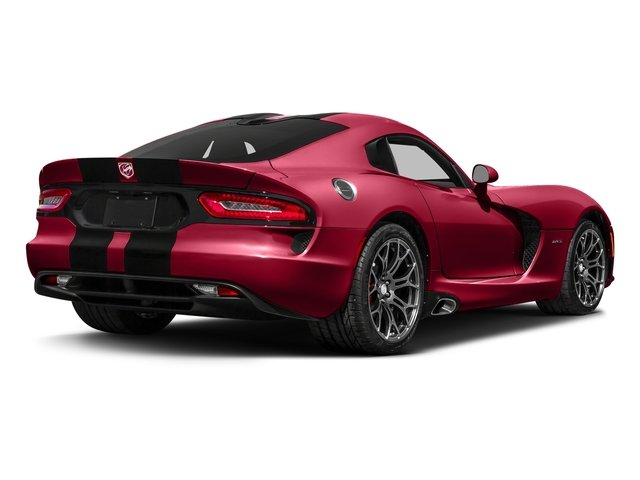 Adrenaline Red 2017 Dodge Viper Pictures Viper 2 Door Coupe photos rear view