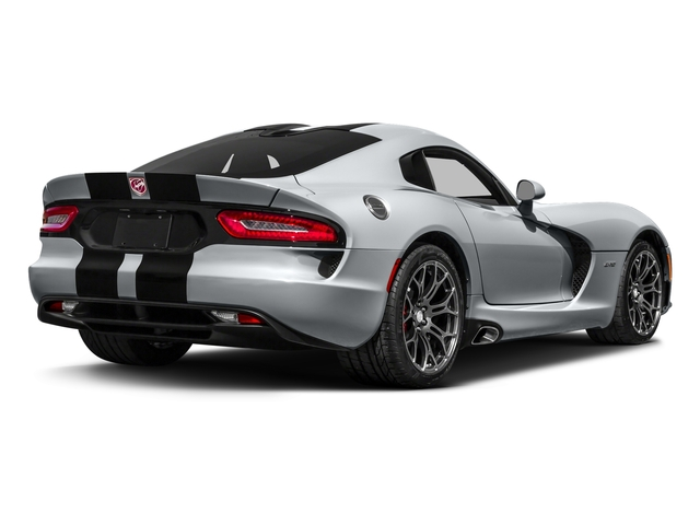 Billet Silver Metallic Clearcoat 2017 Dodge Viper Pictures Viper 2 Door Coupe photos rear view