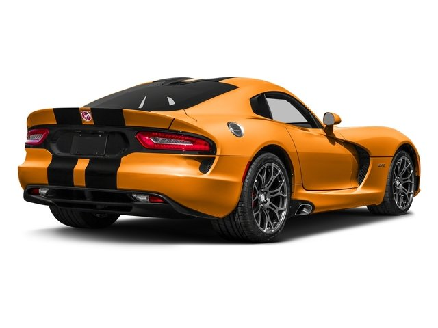 Yorange Clearcoat 2017 Dodge Viper Pictures Viper GTC Coupe photos rear view