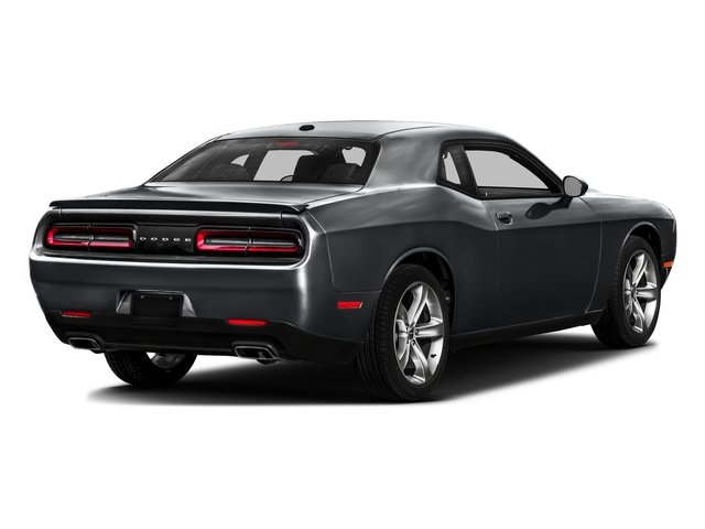 Granite Pearlcoat 2017 Dodge Challenger Pictures Challenger SXT Plus Coupe photos rear view
