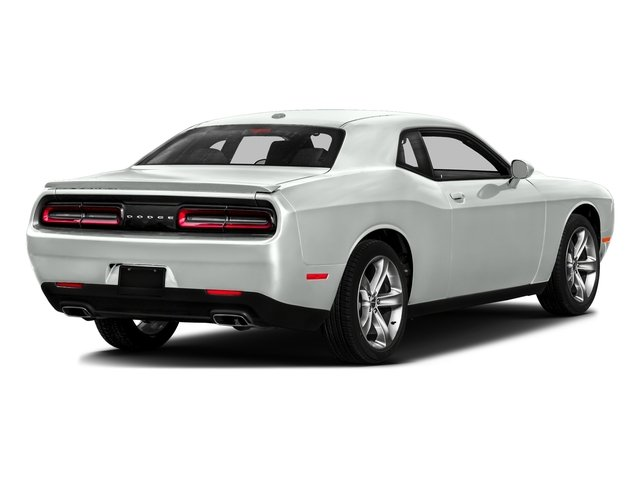 White Knuckle Clearcoat 2017 Dodge Challenger Pictures Challenger SXT Plus Coupe photos rear view