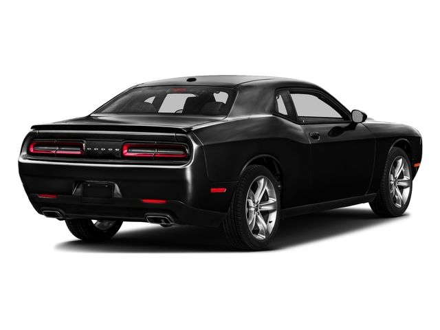 Pitch Black Clearcoat 2017 Dodge Challenger Pictures Challenger SXT Plus Coupe photos rear view