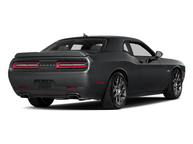 Granite Pearlcoat 2017 Dodge Challenger Pictures Challenger Coupe 2D R/T Plus V8 photos rear view