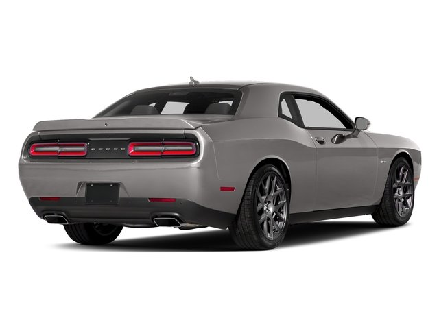 Destroyer Gray Clearcoat 2017 Dodge Challenger Pictures Challenger Coupe 2D R/T Plus V8 photos rear view
