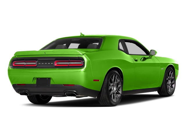 Green Go Clearcoat 2017 Dodge Challenger Pictures Challenger Coupe 2D R/T Plus V8 photos rear view
