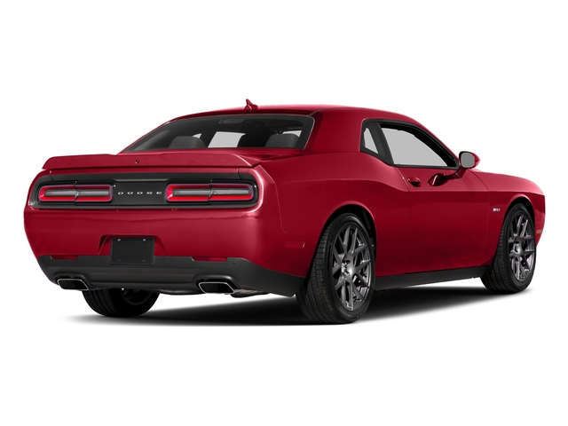 Torred Clearcoat 2017 Dodge Challenger Pictures Challenger Coupe 2D R/T Plus V8 photos rear view