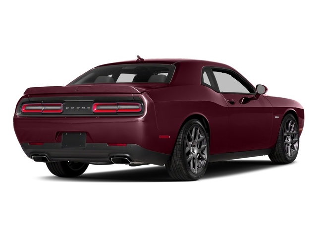 Octane Red Pearlcoat 2017 Dodge Challenger Pictures Challenger Coupe 2D R/T Plus V8 photos rear view