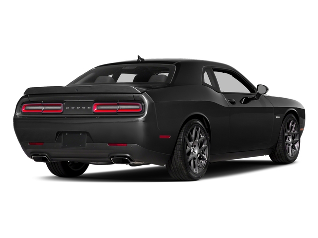 Pitch Black Clearcoat 2017 Dodge Challenger Pictures Challenger Coupe 2D R/T Plus V8 photos rear view