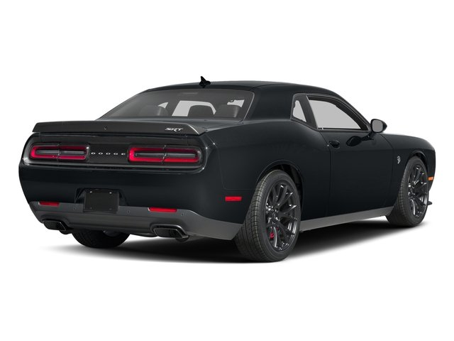 Maximum Steel Metallic Clearcoat 2017 Dodge Challenger Pictures Challenger Coupe 2D SRT Hellcat V8 Supercharged photos rear view