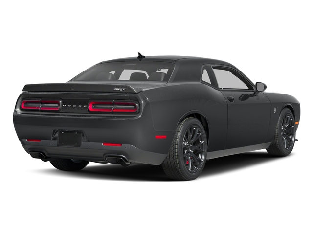 Granite Pearlcoat 2017 Dodge Challenger Pictures Challenger Coupe 2D SRT Hellcat V8 Supercharged photos rear view
