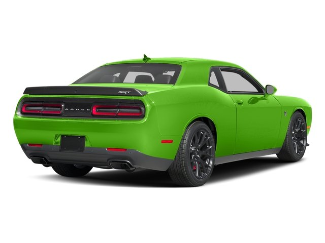 Green Go Clearcoat 2017 Dodge Challenger Pictures Challenger Coupe 2D SRT Hellcat V8 Supercharged photos rear view
