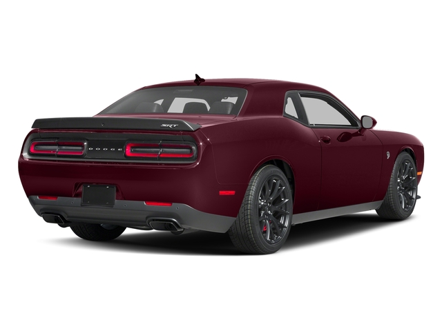 Octane Red Pearlcoat 2017 Dodge Challenger Pictures Challenger SRT Hellcat Coupe photos rear view