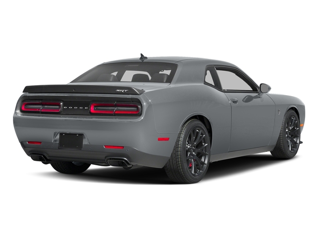 Billet Clearcoat 2017 Dodge Challenger Pictures Challenger SRT Hellcat Coupe photos rear view