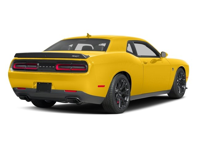 Yellow Jacket Clearcoat 2017 Dodge Challenger Pictures Challenger SRT Hellcat Coupe photos rear view