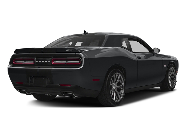 Granite Pearlcoat 2017 Dodge Challenger Pictures Challenger SRT 392 Coupe photos rear view