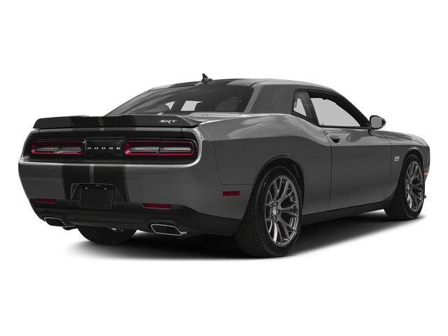 Destroyer Gray Clearcoat 2017 Dodge Challenger Pictures Challenger SRT 392 Coupe photos rear view