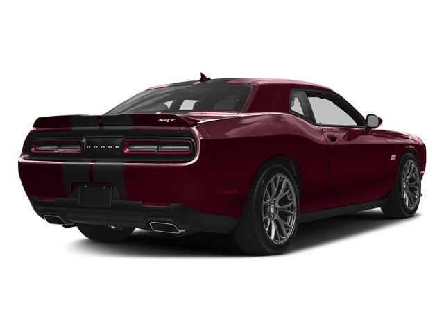 Octane Red Pearlcoat 2017 Dodge Challenger Pictures Challenger SRT 392 Coupe photos rear view