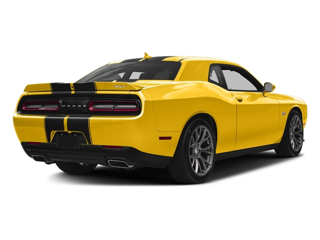 Yellow Jacket Clearcoat 2017 Dodge Challenger Pictures Challenger SRT 392 Coupe photos rear view