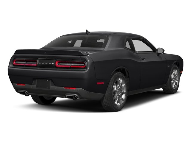 Pitch Black Clearcoat 2017 Dodge Challenger Pictures Challenger GT Coupe photos rear view