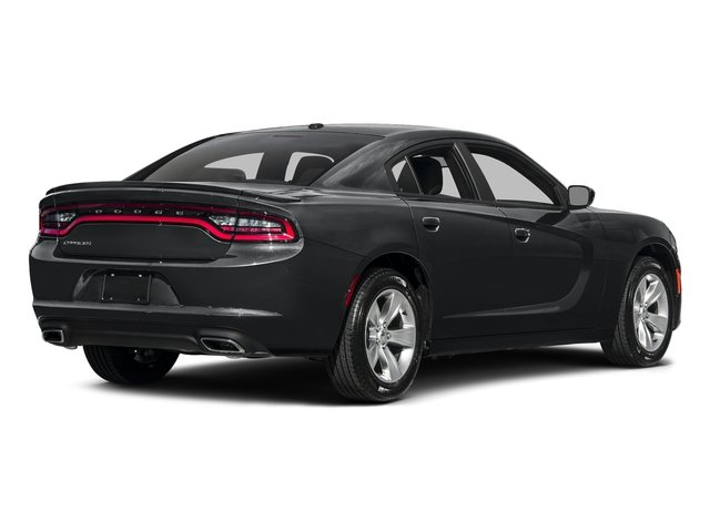 Granite Pearlcoat 2017 Dodge Charger Pictures Charger SE RWD photos rear view