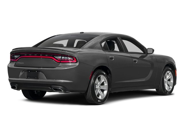 Destroyer Gray Clearcoat 2017 Dodge Charger Pictures Charger Sedan 4D SE V6 photos rear view