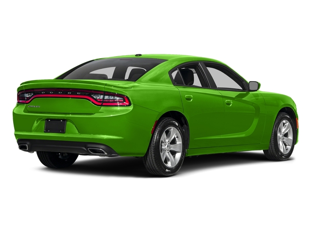 Green Go Clearcoat 2017 Dodge Charger Pictures Charger Sedan 4D SE AWD V6 photos rear view
