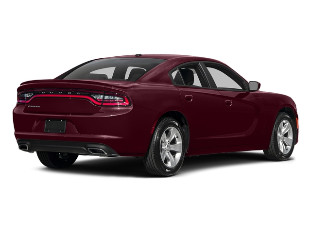 Octane Red Pearlcoat 2017 Dodge Charger Pictures Charger Sedan 4D SE V6 photos rear view