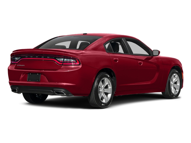 Redline Red Tricoat Pearl 2017 Dodge Charger Pictures Charger Sedan 4D SE V6 photos rear view