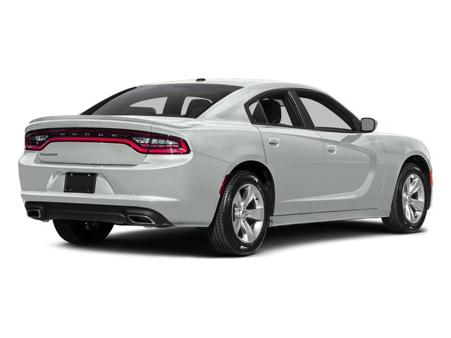 White Knuckle Clearcoat 2017 Dodge Charger Pictures Charger Sedan 4D SE V6 photos rear view