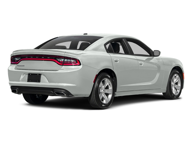 White Knuckle Clearcoat 2017 Dodge Charger Pictures Charger Sedan 4D SE AWD V6 photos rear view