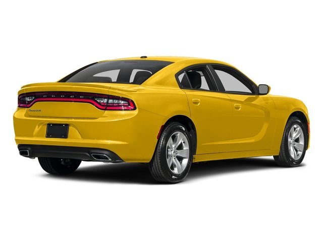 Yellow Jacket Clearcoat 2017 Dodge Charger Pictures Charger SE RWD photos rear view