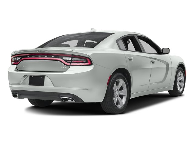 White Knuckle Clearcoat 2017 Dodge Charger Pictures Charger SXT AWD photos rear view