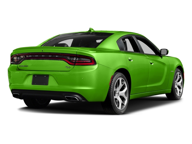 Green Go Clearcoat 2017 Dodge Charger Pictures Charger Sedan 4D R/T V8 photos rear view