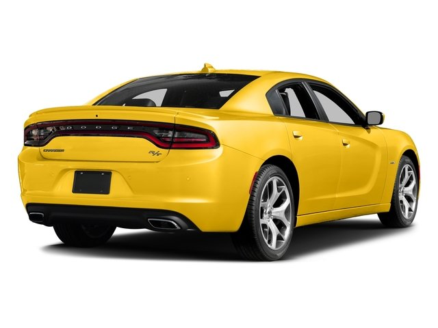 Yellow Jacket Clearcoat 2017 Dodge Charger Pictures Charger Sedan 4D R/T V8 photos rear view