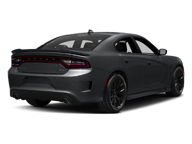 Granite Pearlcoat 2017 Dodge Charger Pictures Charger Sedan 4D SRT Hellcat V8 Supercharged photos rear view
